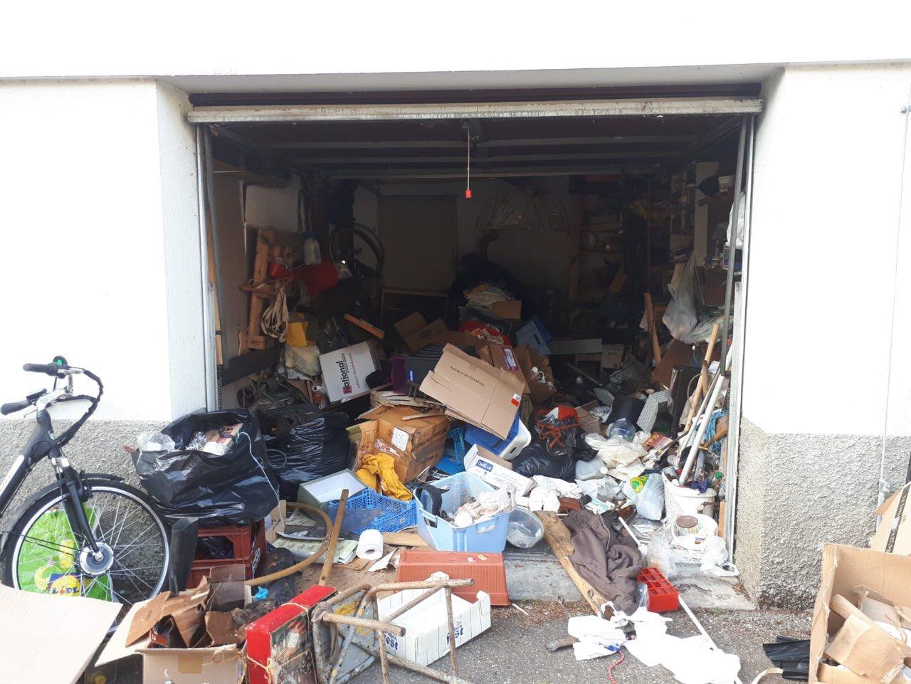 Débarras de garage
